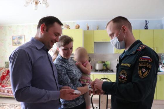 Многодетные семьи Тверской области защитят от пожаров