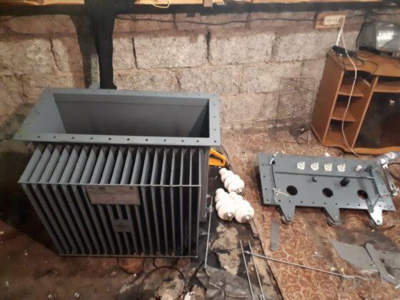 Житель Конаково оставил электросетевую компанию без трансформатора