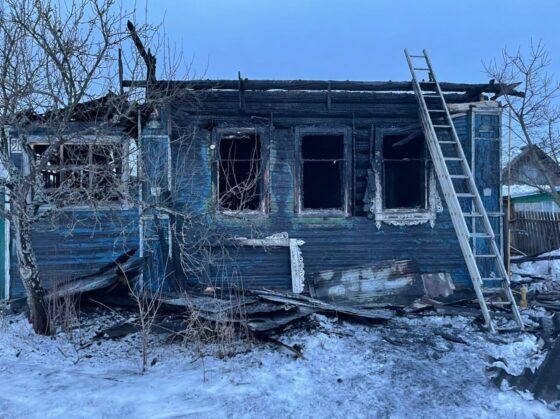 В Калязине в пожаре сгорел пенсионер