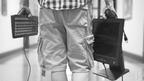 В Твери вор вынес из роддома компьютеры в сумке