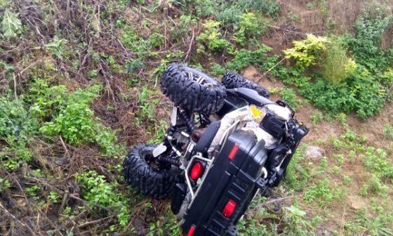 В Тверской области погиб водитель квадроцикла