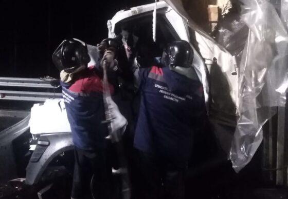 Житель Тверской области погиб в страшной аварии на трассе М-11