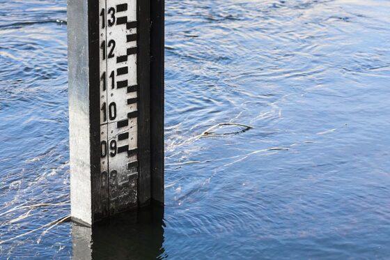 В Мологе повышается уровень воды - ожидается высокое половодье