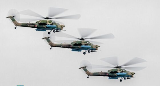 Пилоты из Тверской области начали репетировать Парад Победы