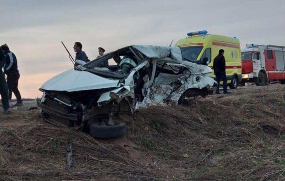 На трассе Тверь-Ржев погибли два водителя