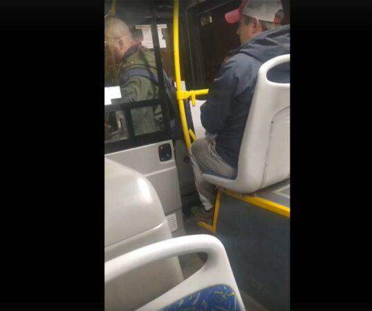 Опубликовано видео скандала в общественном транспорте Твери