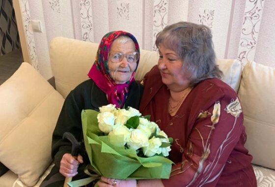 Жительница Калининского района отметила столетний юбилей