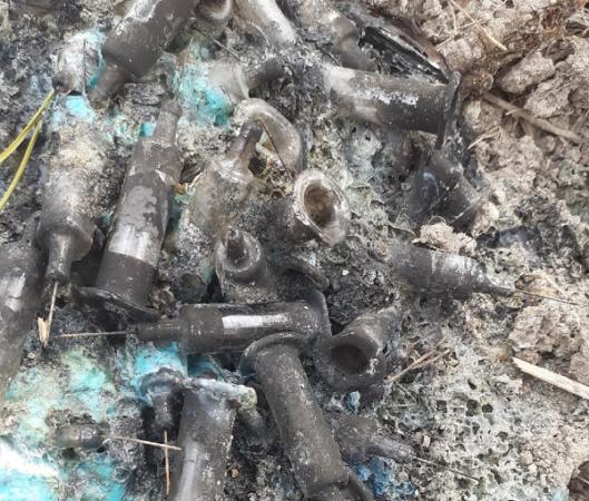 Под Тверью у морга нашли очередное кладбище шприцев