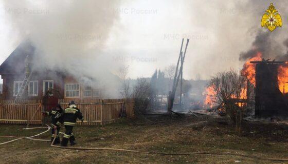 В Тверской области пожарные спасли от огня больше 200 домов