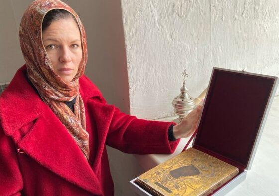 В монастырь Тверской области передали копию с чудотворной иконы