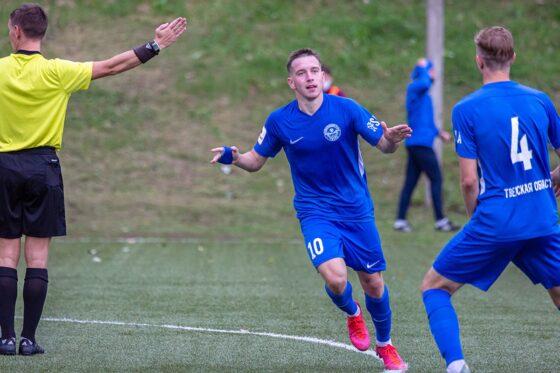 Тверские футболисты выиграли третий матч подряд