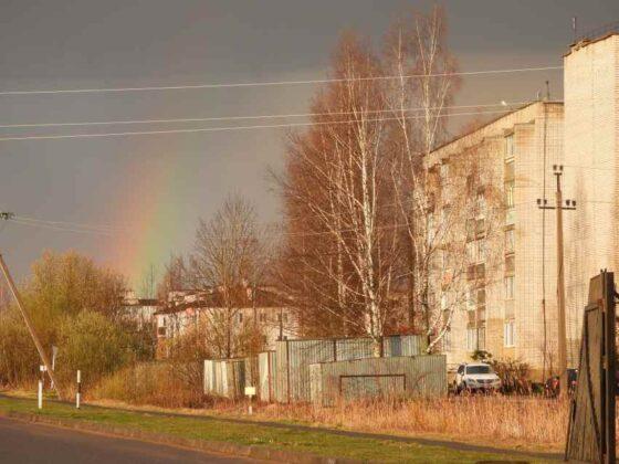 В Тверской области прошла первая гроза
