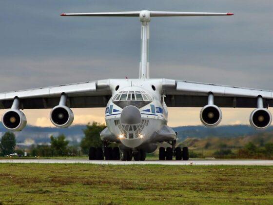 Самолеты ИЛ-76 улетели  из Тверской области на репетицию парада Победы