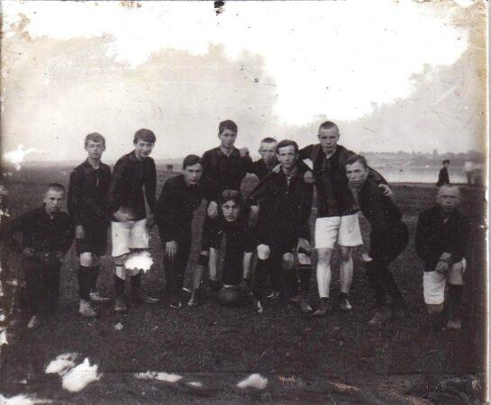Опубликовано фото кимрской футбольной команды образца 1911 года