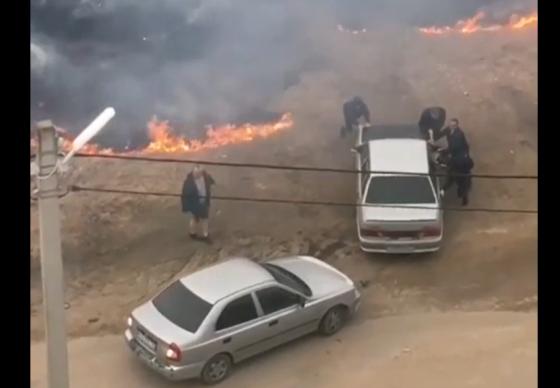 Под Вышним Волочком из-за детской шалости чуть не сгорели машины