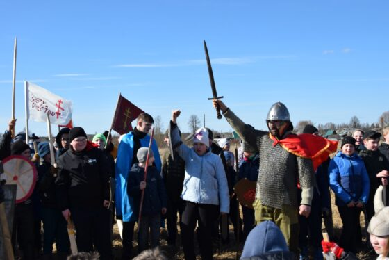 В Тверской области крестоносцы бились с Александром Невским