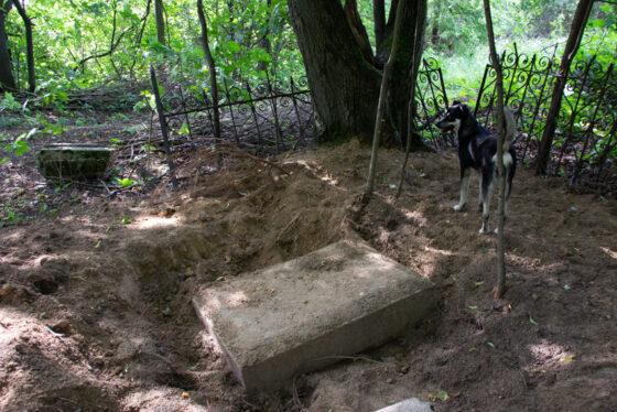 В Твери с Волынского кладбища украли четырехметровую  кованую  ограду