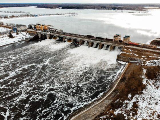 В Тверской области в Иваньковском водохранилище повысился уровень воды