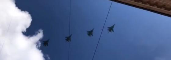 Опубликовано видео подготовки к 9 мая с участием тверских пилотов
