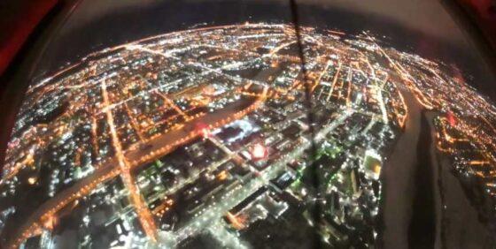 Молодые летчики провели ночные полеты в небе Тверской области