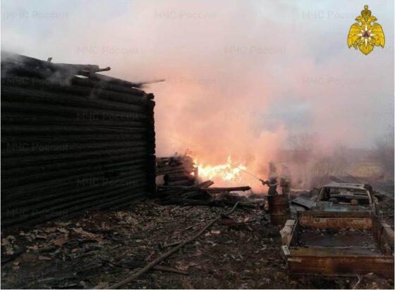 Под Бежецком сгорел дом, есть погибшие