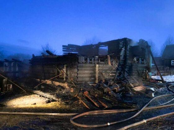 В Бежецком районе в пожаре погибла 83-летняя бабушка