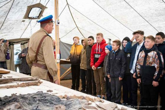Школьники Тверской области ежедневно смогут посещать лагерь поисковиков под Ржевом