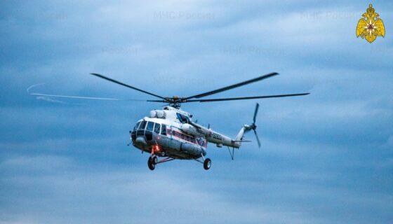 Тяжелого пациента на вертолете доставили в Тверь