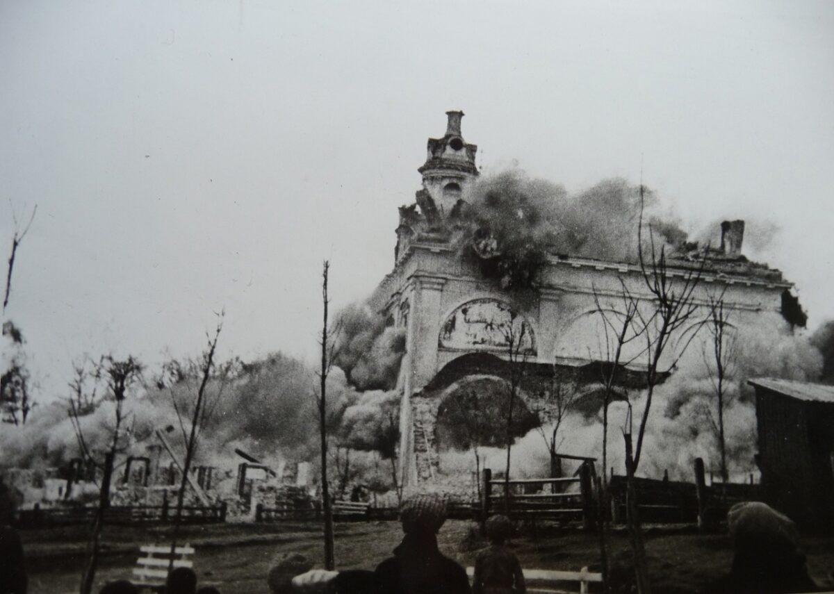 85 лет назад, 29 апреля 1936 года, в Кимрах был взорван Покровский собор