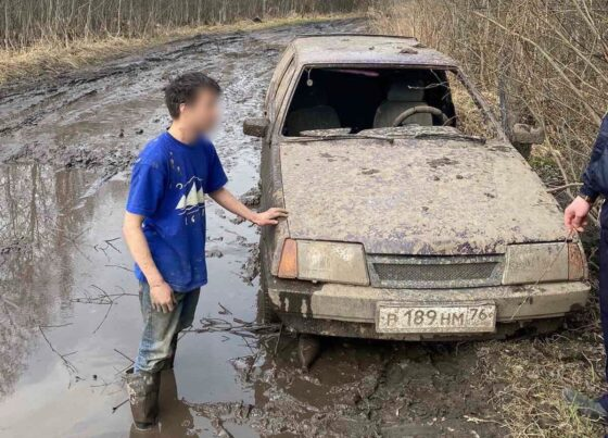 Под Тверью 17-летний москвич выбил  ветровое стекло машины для лучшего обзора