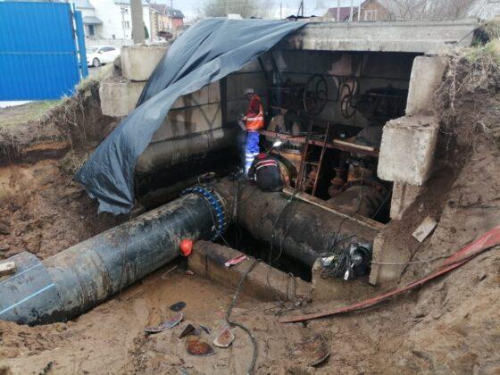 В Твери завершены работы  по первому этапу модернизации водовода в Затверечье