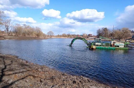 В Кимрах из реки достанут 90 кубометров донных отложений