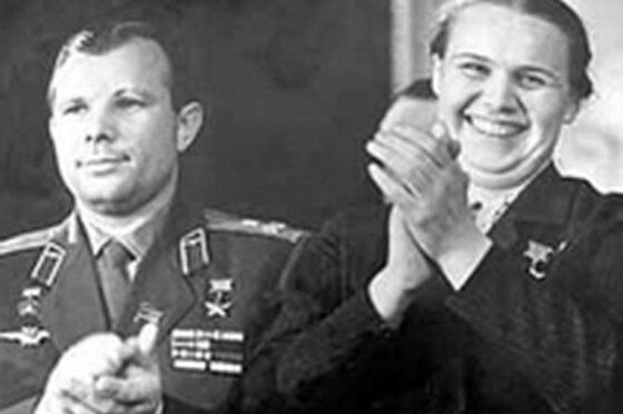 В соцсетях рассказали о дружбе Гагарина и Гагановой