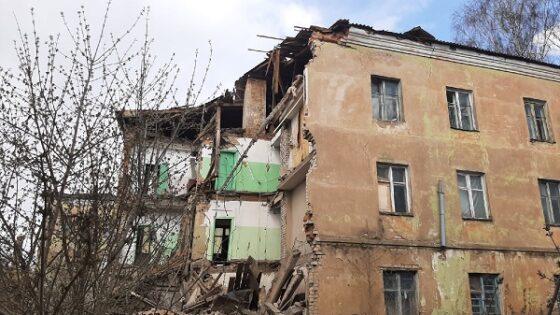 На демонтаж обрушившегося здания в Ржеве выделили деньги из бюджета