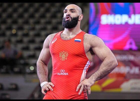 Кимрский спортсмен завоевал золото на первенстве Европы по греко-римской борьбе