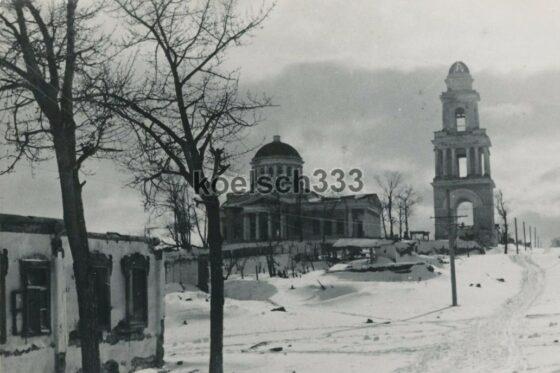 Опубликованы фото оккупированного Ржева с опустевшими храмами