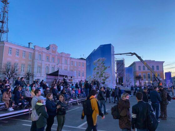 Опубликованы фото и видео репетиции парада Победы в Твери