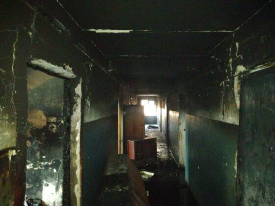 В Тверской области в жилом доме сгорела комната