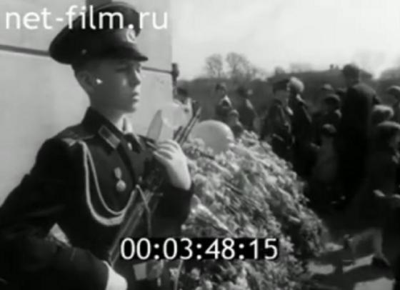 Опубликовано видео 9 Мая в Калинине в 1985 году