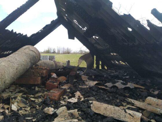Из-за короткого замыкания в Тверской области случился пожар