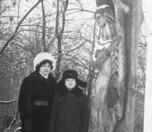 Опубликовано фото исчезнувшей тверской скульптуры, которая подарила автору год жизни
