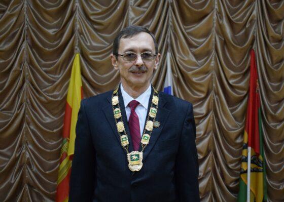 Глава Оленинского округа Олег Дубов  написал диктант хуже, чем в прошлом году