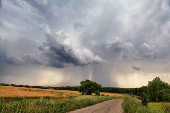 На  западные районы Тверской области надвигаются гроза и ливень