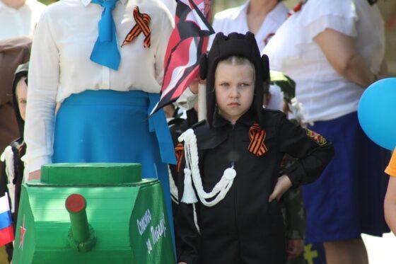 В Лихославле все-таки провели малышковый парад