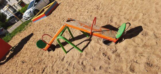 В Конаково вандалы атакуют   детские площадки