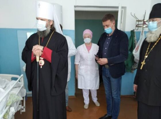 Тверской митрополит  навестил   паллиативных пациентов районной больницы