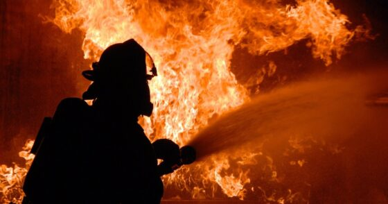 В Тверской области сгорели два дома