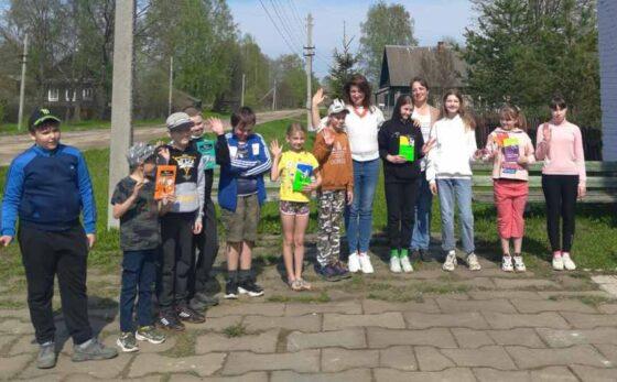Известный детский писатель из Москвы встретилась с сельскими читателями в Тверской области