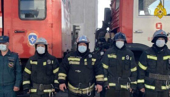 Пожарные спасли двух человек в Вышнем Волочке