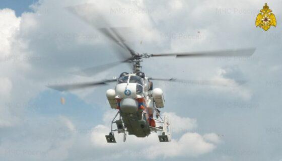 Еще одного тяжелого пациента срочно доставили на вертолете в Тверь